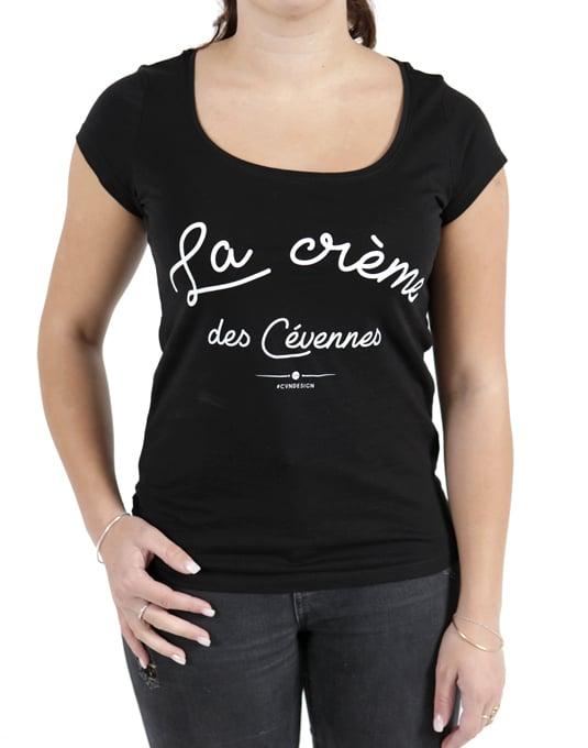 t-shirt femme 2017 - la cr u00e8me des c u00e9vennes
